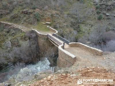Cascadas del Aljibe; puente matallana; tiendas senderismo madrid
